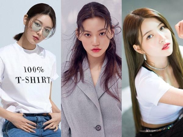 5 Member Girl Group K-Pop yang Bertubuh Tinggi