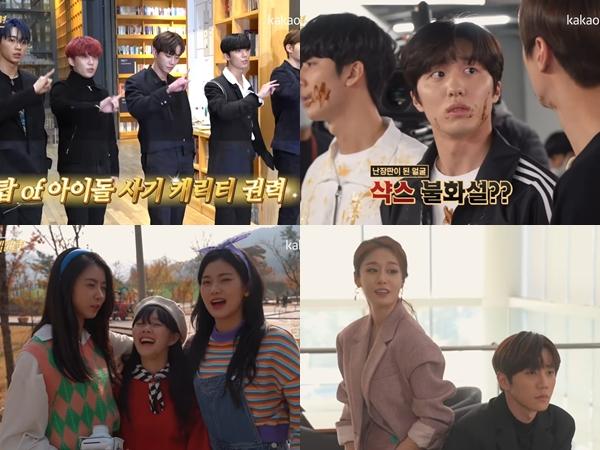 Intip Keseruan Pemain Drama 'Imitation' Saat Syuting