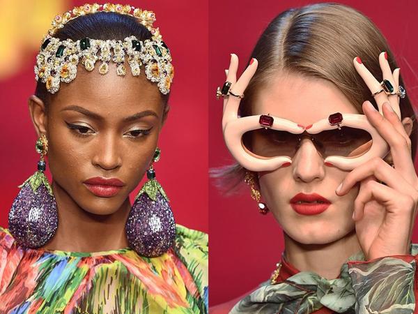 Intip 8 Aksesoris Unik di Milan Fashion Week Spring 2018