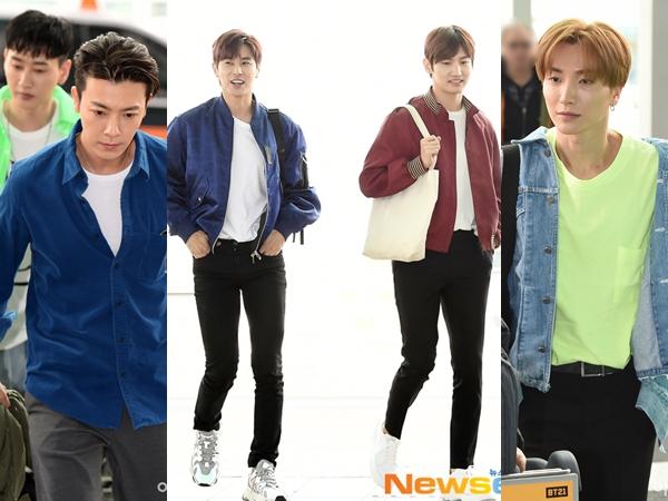 TVXQ dan Super Junior Terlihat di Bandara, Jadi Syuting di Indonesia?