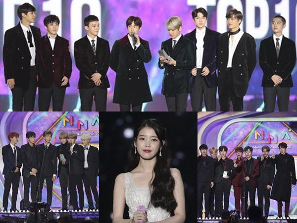 Congratulations, Inilah Daftar Lengkap Idola K-Pop Pemenang Penghargaan MelOn #MMA2017!