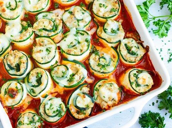 Lasagna Zucchini Roll Bisa Buat Kamu Menikmati Pasta Enak Tanpa Ganggu Diet
