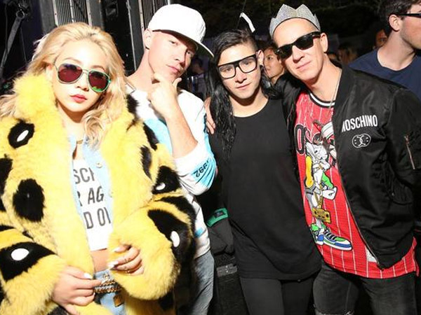 CL 2NE1 Juga Eksis di Moschino Night Party Coachella, California!