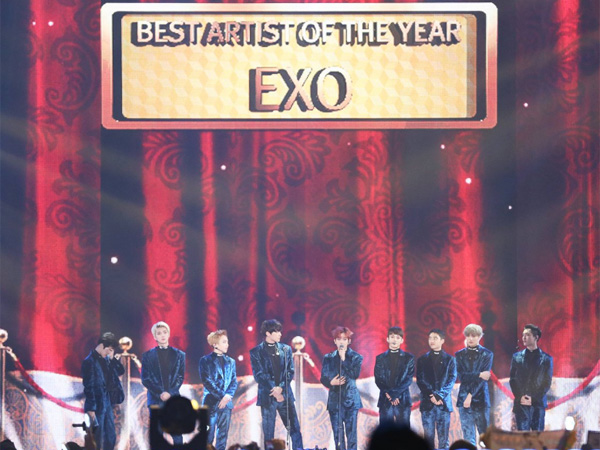 Raih 3 Penghargaan Tertinggi, EXO Tuai Prestasi Baru di Sepanjang Sejarah MelOn Music Awards!