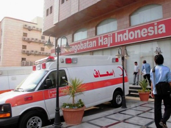 Mekkah Capai Suhu 43 Derajat Celsius, Tim Kesehatan Haji Indonesia Siaga Ambulans