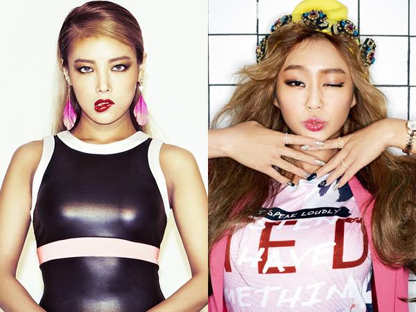 Wow, Yubin Wonder Girls dan Hyorin SISTAR Bergabung di 'Unpretty Rapstar' Season 2!