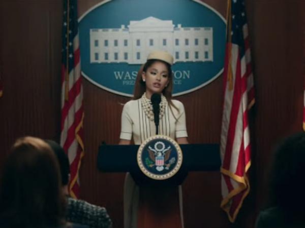 Ariana Grande Ambil Alih Gedung Putih di Video Musik 'Positions'
