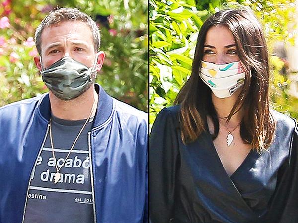 Kasmaran, Ben Affleck dan Ana de Armas Pakai Kalung Couple