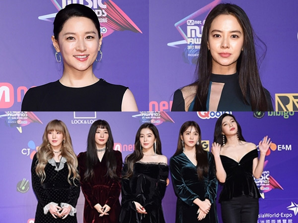 Para Seleb Wanita dengan Gaya Busana Terbaik di Red Carpet #2017MAMA Hong Kong