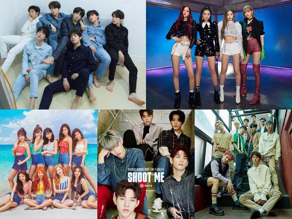 Sederet Album K-Pop Lama dan Baru Tempati Posisi di Chart Billboard World Albums