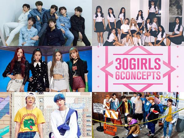 Deretan Album K-Pop Tempati Posisi di Chart Billboard World Albums Minggu Ini