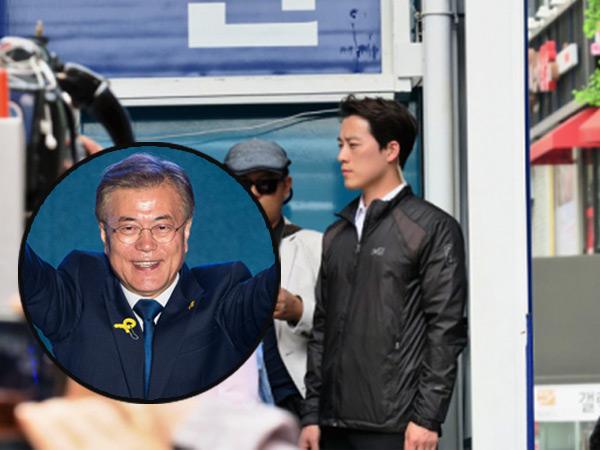 Heboh Pengawal Presiden Baru Korea yang Bikin Netizen Salah Fokus!