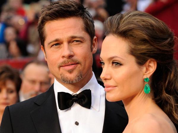 Belum Setahun Menikah, Brad Pitt dan Angelina Jolie Dirumorkan Akan Bercerai