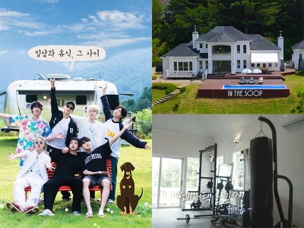 BTS Akan Tempati Rumah Bak Kastil di Tengah Hutan dalam 'In the Soop' Season 2