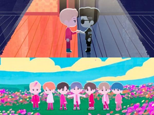 BTS Tampilkan 7 Tahun Perjalanan Karir dalam MV Animasi 'We are Bulletproof: the Eternal'