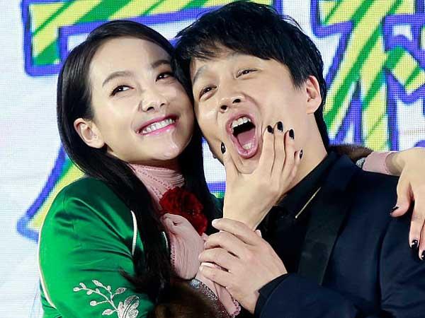 Film 'My New Sassy Girl' Rilis Poster Kocak Cha Tae Hyun dan Victoria F(x)