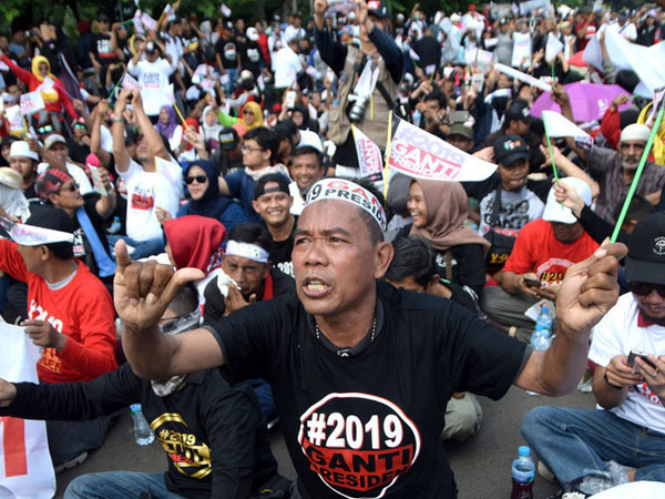 Dimana Lokasi Deklarasi #2019GantiPresiden Setelah Ditolak Pemkot Serang?