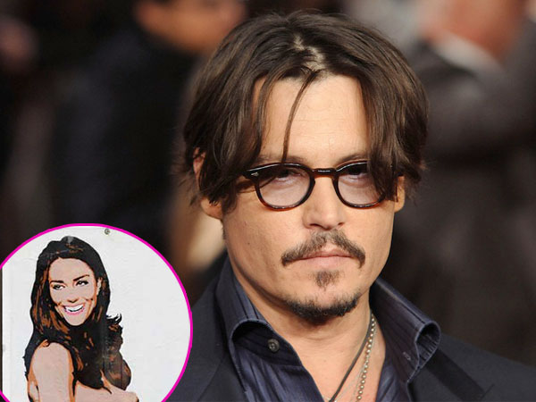 Johnny Depp Rela Rogoh Ratusan Milyar Demi Foto Bugil Kate Middleton Saat Hamil?