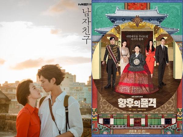 'Encounter' dan 'The Last Empress' Bersaing Ketat Jadi Drama Rabu-Kamis Terpopuler