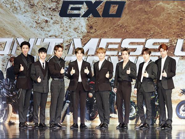 Album Baru Debut di Chart Billboard 200, EXO Berhasil Pecahkan Rekor Sebelumnya!