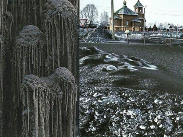 Warga Rusia 'Dihantui' Salju Hitam, Apa Penyebabnya?