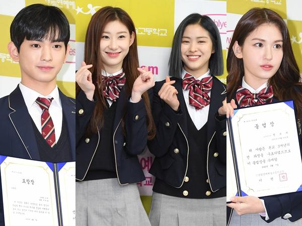 Congrats, Jeon Somi Hingga Lee Eui Woong Resmi Lulus dari SMA Hanlim Arts