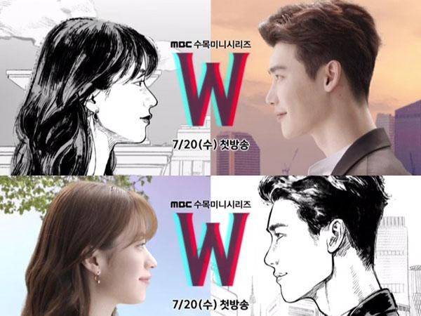 Hadirkan Karakter Animasi di Video Teaser, Drama 'W' Gambarkan Kisah Cinta Beda Dimensi