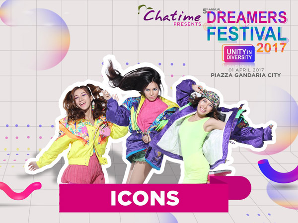 ICONS Siap Suguhkan Kolaborasi Seru di Panggung 'Dreamers Festival 2017'!