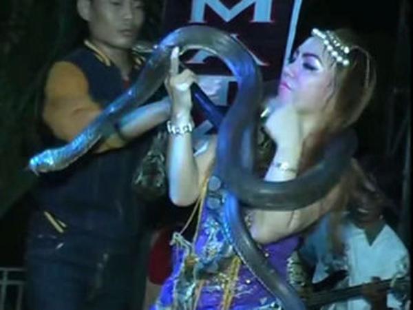 Diangkat Media Asing, Video Penyanyi Dangdut Tewas Dipatuk Ular di Panggung Tuai Simpati dan Kritik Netizen