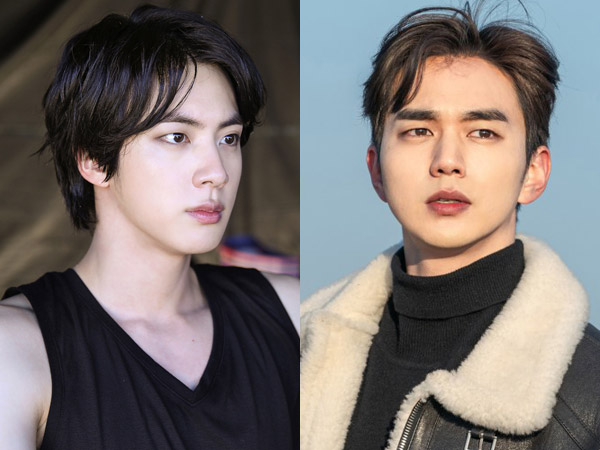 Tak Disangka Berteman, Kiriman Jin BTS ke Lokasi Syuting Drama Yoo Seung Ho Buat Staf Kaget