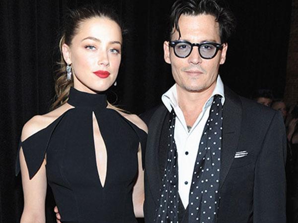 Johnny Depp Resmi Nikahi Amber Heard Sebelum Pesta Pernikahan di Bahama
