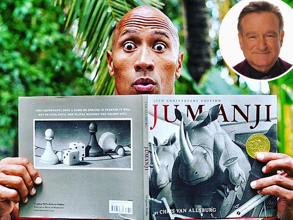 'Jumanji' Resmi di-Remake, 'The Rock' Janjikan Tribute Paling Manis Untuk Robin Williams