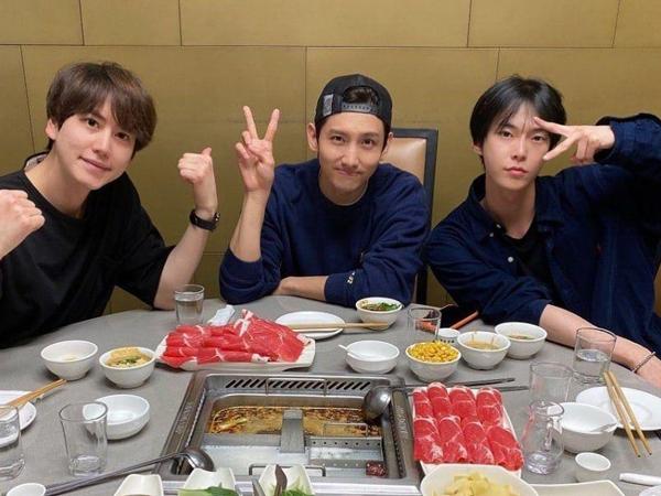 Kyuhyun, Changmin, dan Doyoung Kejutkan Penggemar Lewat Postingan Foto di Instagram