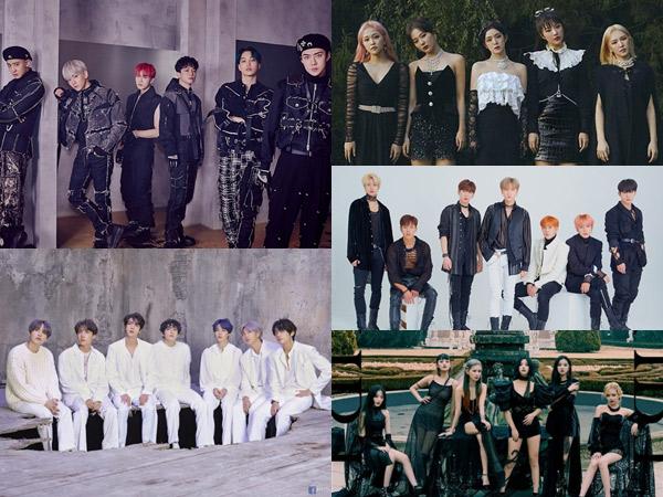 EXO, BTS, Hingga Red Velvet Masuk Nominasi MTV VMAs 2020