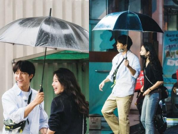 Foto-foto Lee Seung Gi dan Han Hyo Joo Bak Kencan Rahasia Bikin Fans Baper
