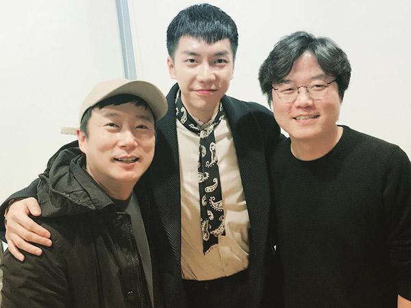 Heboh Lee Soo Geun dan Na PD Reunian Bareng Lee Seung Gi, Kode Proyek Variety Baru?