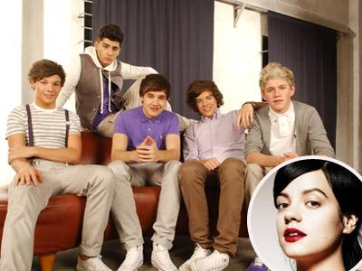 Lily Allen Jadi Personil Ke-6 One Direction?