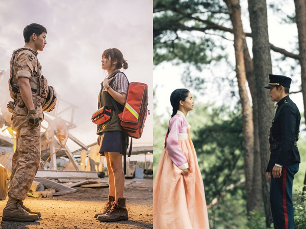 Adegan Ikonik nan Romantis 'Descendants of the Sun' Muncul Lagi di Drama 'Mr. Sunshine'