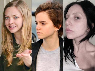 Seleb Hollywood Tanpa Makeup, Siapa Paling Berbeda?