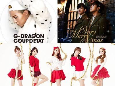 G-Dragon, TVXQ, dan KARA Debut dengan 'Mulus' di Oricon Chart!