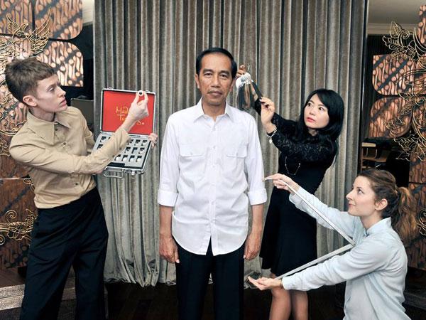 Tak Hanya Sekedar Wacana, Patung Presiden Jokowi Siap Dipajang di Museum Madame Tussauds Tahun Ini!
