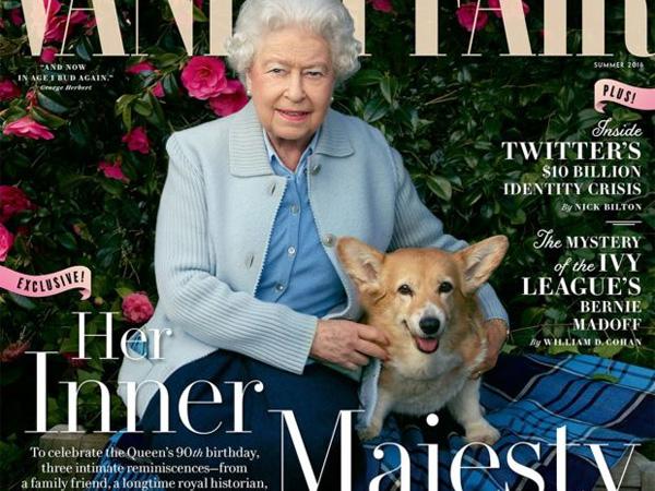 Hiasi Sampul 'Vanity Fair', Ratu Elizabeth Pose Bareng Cucu, Cicit, Hingga Anjing Kesayangannya