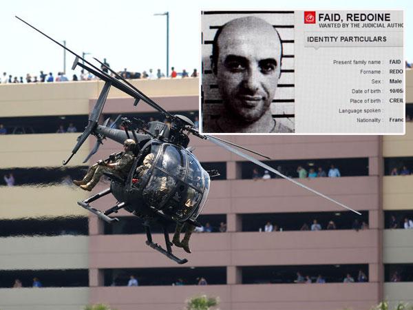 Spektakuler, Gangster Ini Kabur dari Penjara Perancis Menggunakan Helikopter!