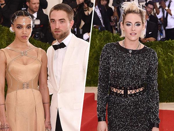 Hadir di Met Gala 2016, Robert Pattinson dan FKA Twigs Bertemu Kristen Stewart?