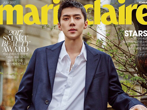 Daebak, Fans Beli 16 Ribu Majalah 'Marie Claire' yang Dibintangi Sehun EXO!