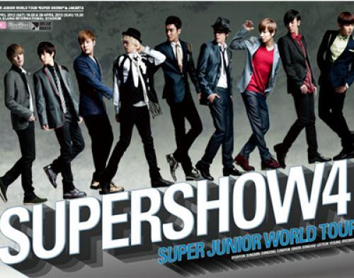 Wow, Konser Super Show 4 Indonesia Jadi 3 Hari!