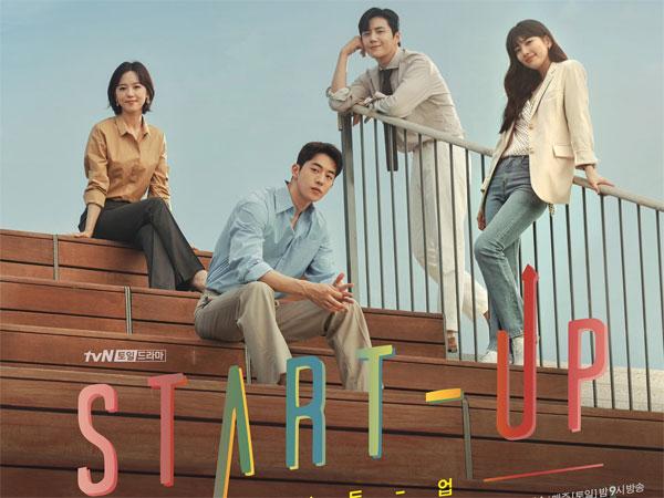 Masa Depan Cerah Menanti Para Karakter dalam Poster Drama 'Start-Up'