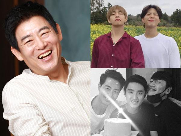 Akrab dengan Aktor Junior, Sung Dong Il Mengaku Tak Menggurui Soal Akting