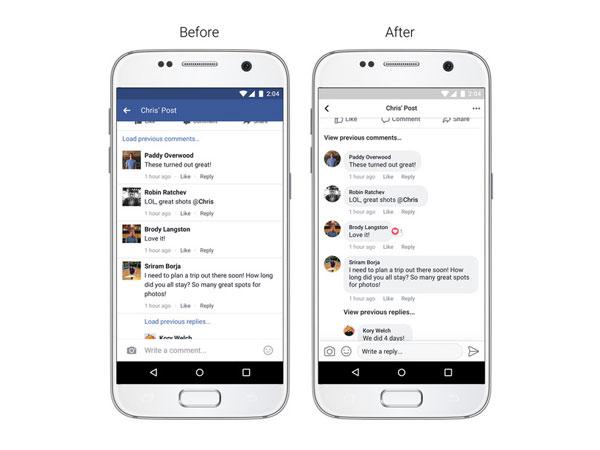 Ikuti Twitter, Facebook Rombak Tampilan Aplikasi