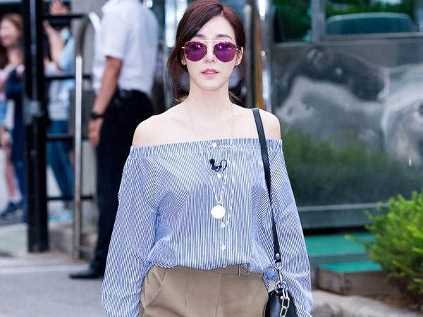 Unik, Kemeja yang Dikenakan Tiffany SNSD Ini Juga Bisa Digunakan Sebagai Rok